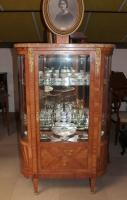 DISPLAY CABINET IN ROSEWOOD