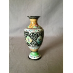 EARLY 20th C ENAMELLED VASE