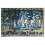 XVIII SECOLO AUBUSSON TAPESTRY