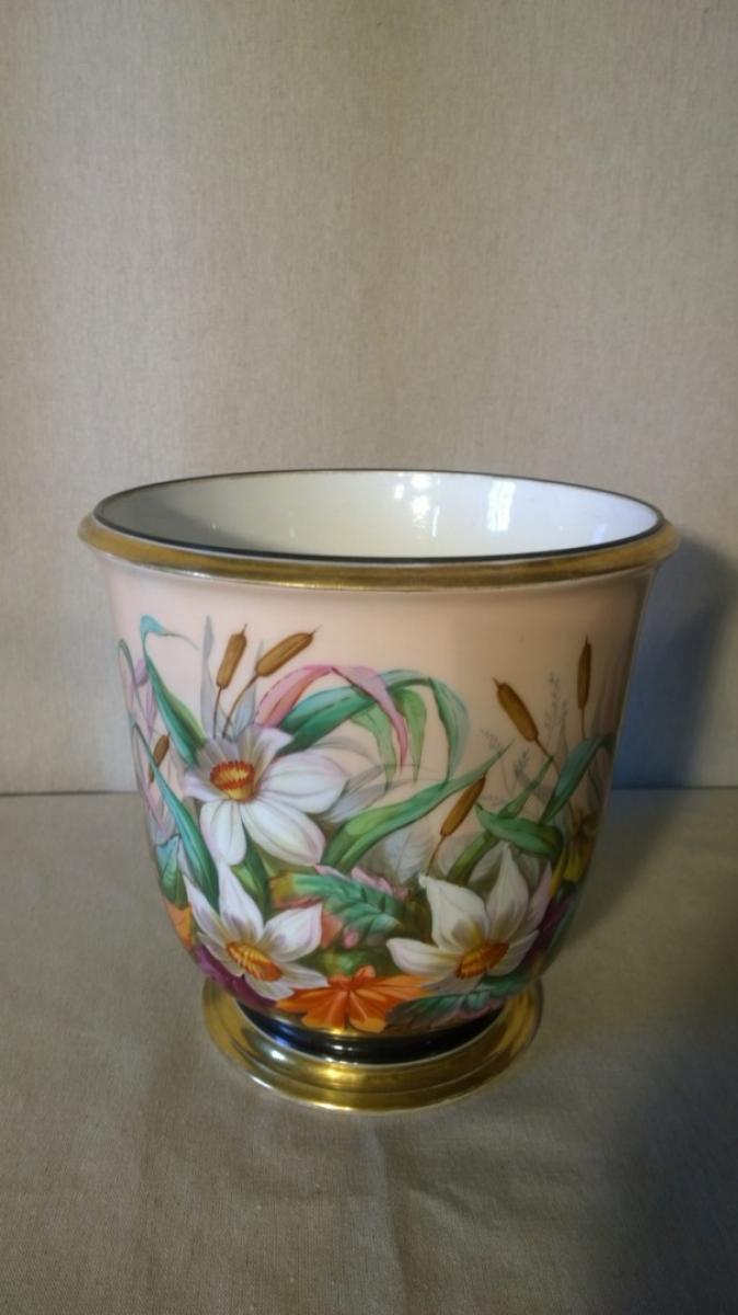 Vaso di cache in porcellana alain leblond for Vaso di porcellana