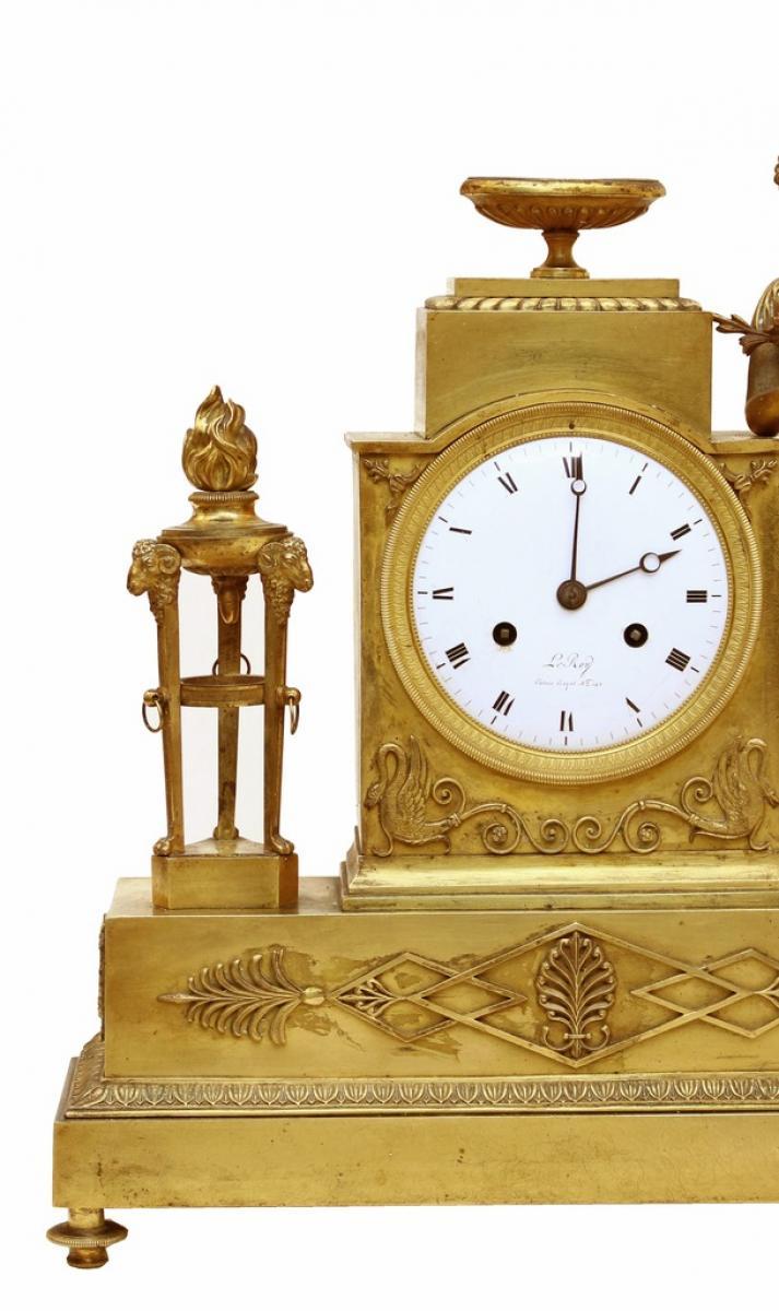 L 39 orologio dell 39 impero periodo firmato leroy galerie for Seconde case impero in vendita