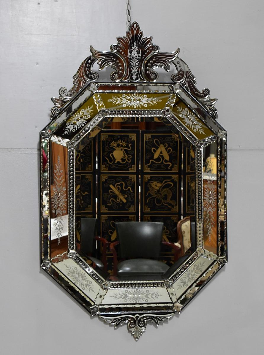 Louis Philippe mirror - nineteenth