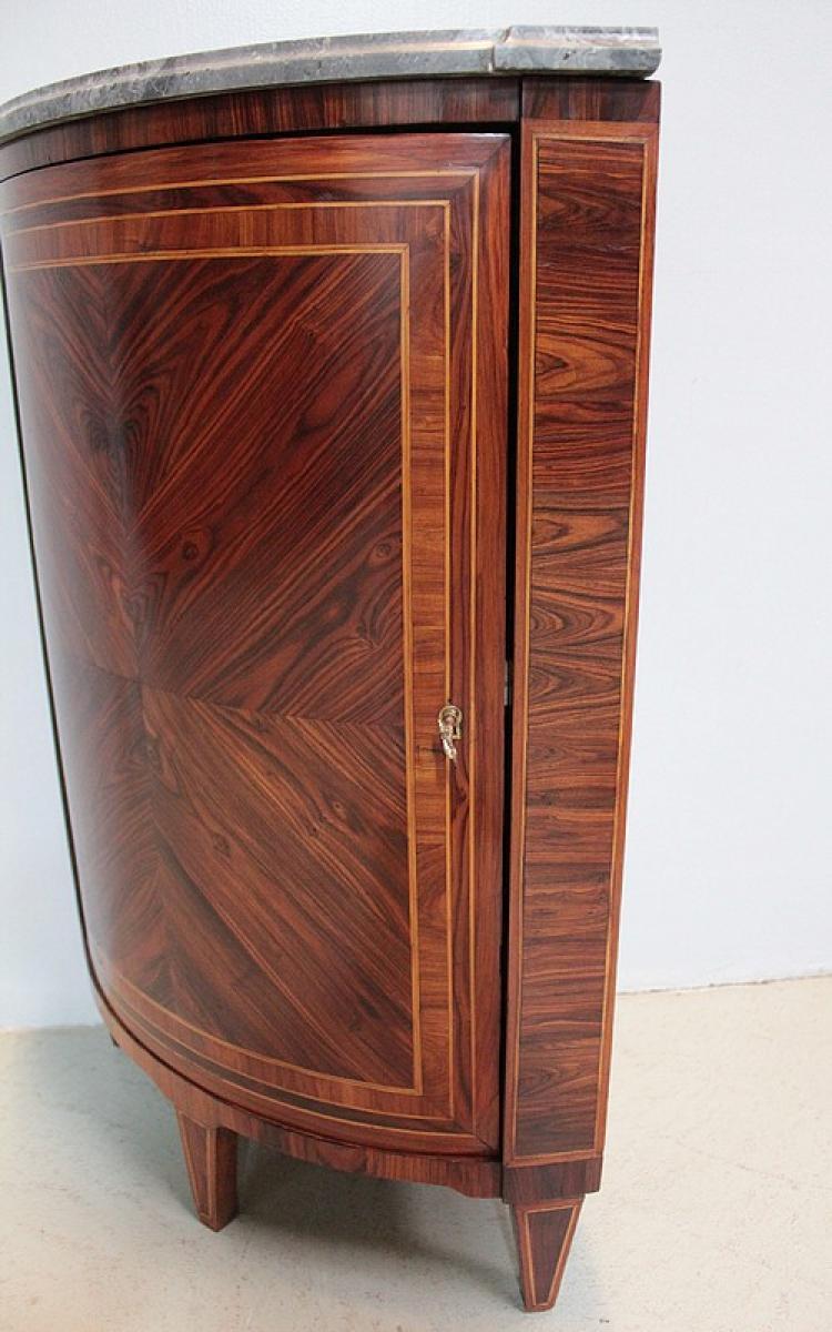 Armadio d 39 angolo periodo di louis xvi antiquites lecomte for Angolo del louis