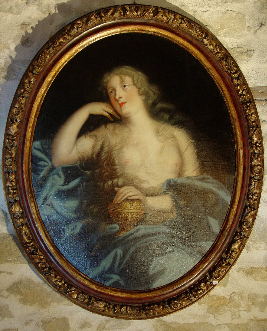 17th century french Painting, Portrait after Pierre Mignard