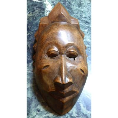 Beautiful African Mask from Congo Collected First Half Of The 20th Century. Africa