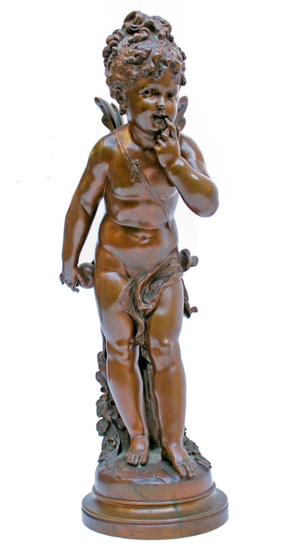 SCULTURA IN BRONZO di Paul Duboy (1830-1887)