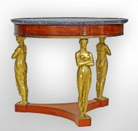 EMPIRE PERIOD TABLE ATTRIBUTED TO JACOB
