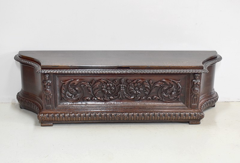 Renaissance chest bench - nineteenth