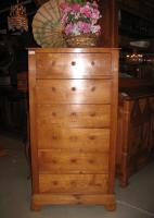 LOUIS PHILIPPE PERIOD CHEST IN CHERRYWOOD