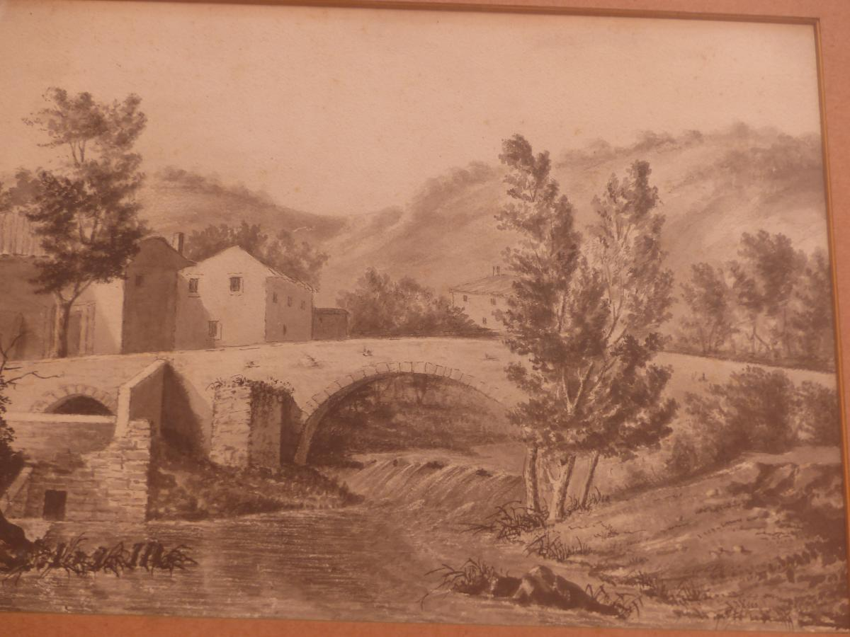 large lead mine drawing, eighteenth time, Landscape quality