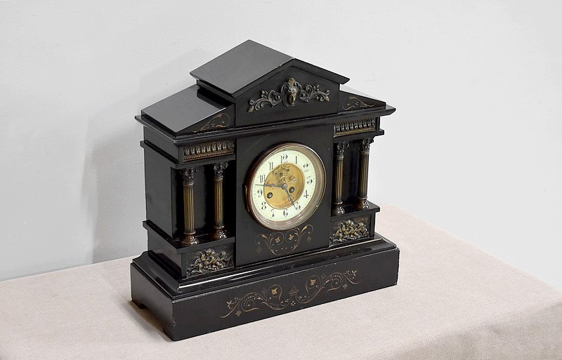 Clock of Napoleon III Fireplace - 1900