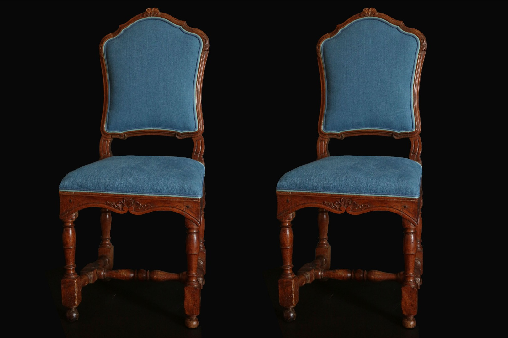 Pair of Regency chair, 18th century
