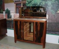 CARTUCCE ART DECO IN ROSEWOOD