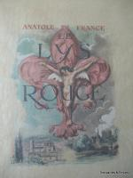 LE LYS ROUGE DI ANATOLE FRANCE ILLUSTRATA DA ANDRE HOFER