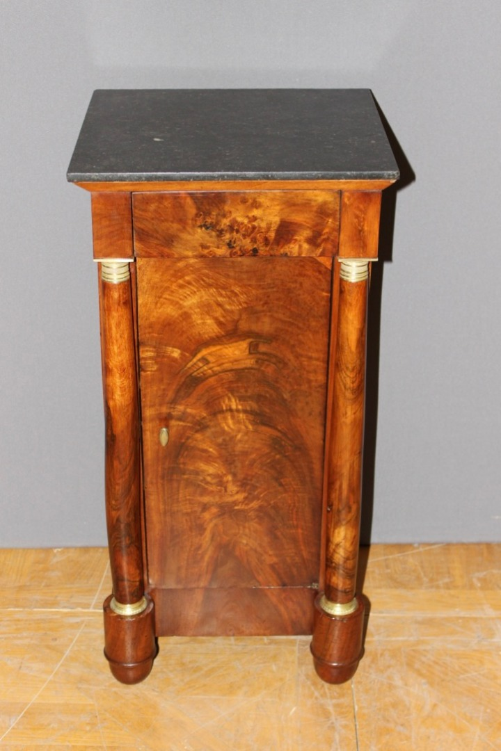Empire Nightstand In Walnut XIX