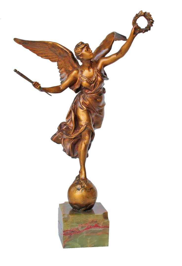 SCULTURA IN BRONZO di Louis Ernest Barrias (1841-1905)