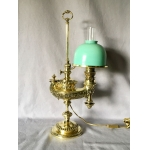 WILD AND WESSEL HARVARD STUDENT LAMP