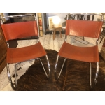Ludwig Mies Van der Rohe 2 chairs ( possibility of 4 ) Model MR 10