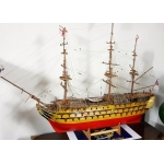 Large Wooden ship's Model  HMS Victory