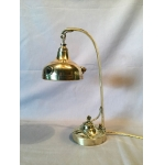 FRENCH BRASS LAMP