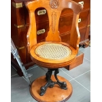 Armchair captain steamer teak 1900