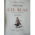 GIL BLAS DI AR LESAGE ILLUSTRATED JEAN GRADASSI
