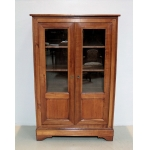 LOUIS PHILIPPE STYLE DISPLAY CABINET